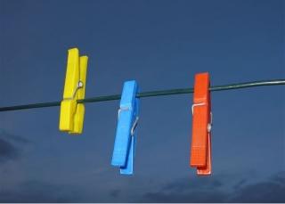 A clothes line - savior of textiles