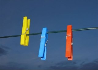 A clothes line - savior of textiles