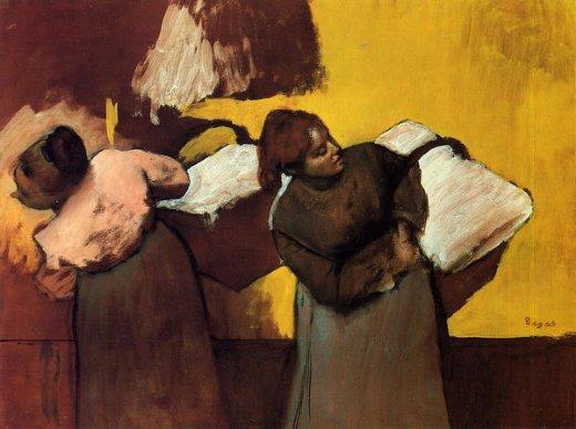 edgar-degas-laundress-carrying-linen